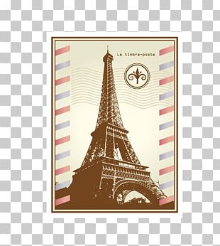 Paris Rubber Stamp Postage Stamp Icon PNG