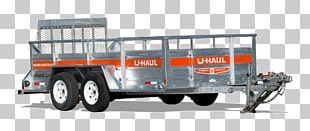 Car U-Haul Uhaul Trailer Rental Towing PNG