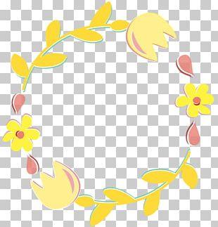 Laurel Wreath Flower Floral Design PNG