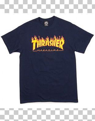 T-shirt Thrasher Presents Skate And Destroy Hoodie Skateboarding PNG