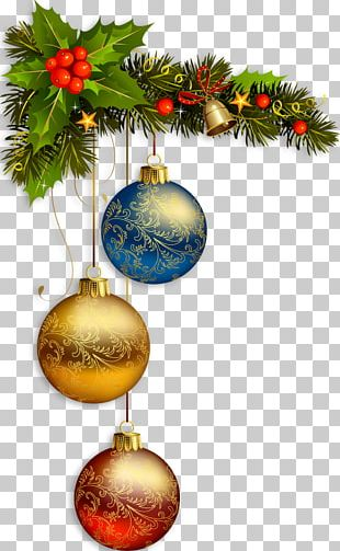 Christmas Card New Year Christmas Decoration PNG