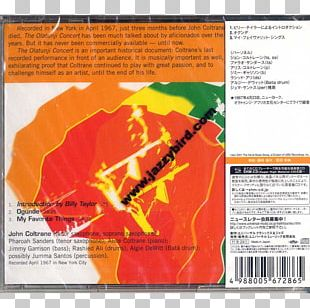 The Olatunji Concert: The Last Live Recording Compact Disc Sound Recording And Reproduction Brochure Import PNG