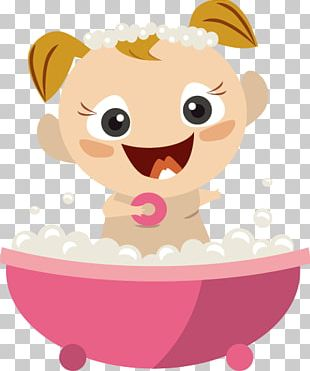 Bathing Infant Baby Shower Euclidean PNG