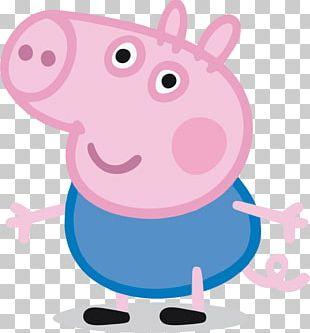 George Pig Daddy Pig Grandpa Pig Mummy Pig PNG