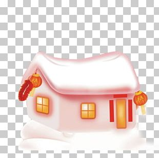 Igloo Snowman House PNG