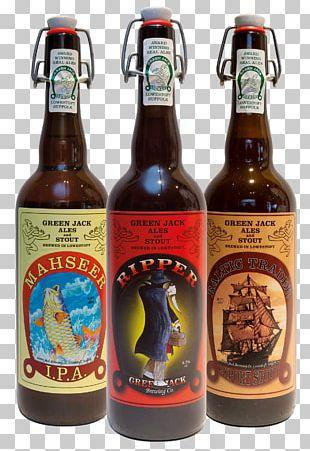 India Pale Ale Beer Bottle Cask Ale PNG