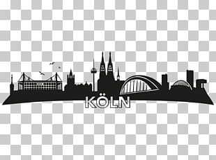 Cologne Skyline Silhouette Wall Decal Furniture PNG