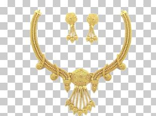 Dubai Earring Gold Jewellery Necklace PNG