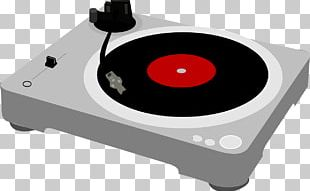 Phonograph Record Direct-drive Turntable PNG