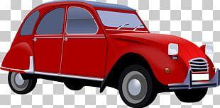 Citroxebn 2CV Car Volkswagen Beetle PNG