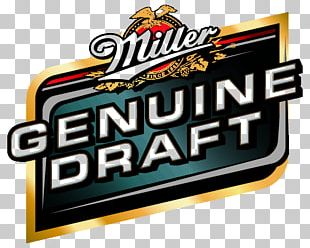 Draught Beer Miller Brewing Company United States Miller Genuine Draft PNG