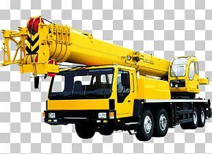 Telescopic Crane Truck PNG