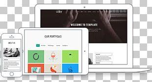 Responsive Web Design Web Template System Joomla WordPress PNG