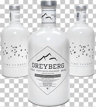 Liqueur Glass Bottle Vodka Liter PNG