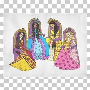 Textile Blanket Princess Polar Fleece Royal Family PNG