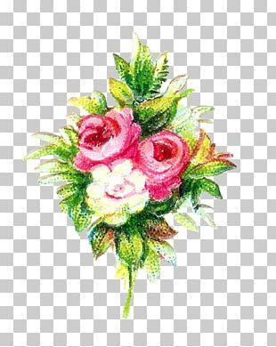 Flower Bouquet Garden Roses Cut Flowers PNG