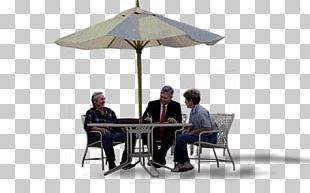 Table Chair Umbrella Furniture PNG