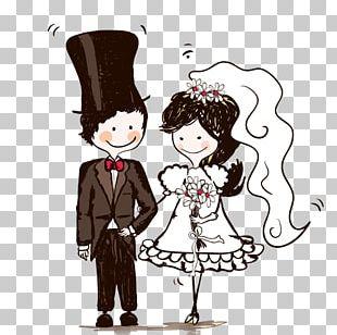 Wedding Invitation Bridegroom Bride & Groom Direct PNG