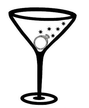 Martini Margarita Cocktail Glass PNG