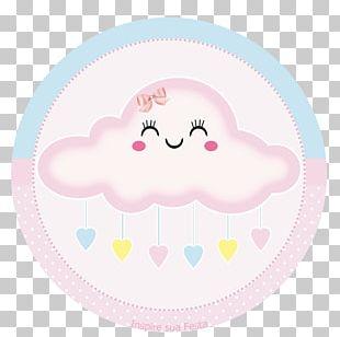 Rain Printing Cloud Drop Love PNG