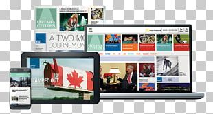 Responsive Web Design Ottawa Citizen Postmedia Network Newspaper PNG