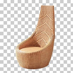 Eames Lounge Chair Wicker Furniture PNG