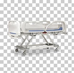 Hospital Bed Trendelenburg Position Adjustable Bed PNG