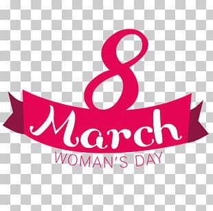 International Women's Day March 8 Woman Wish Happiness PNG