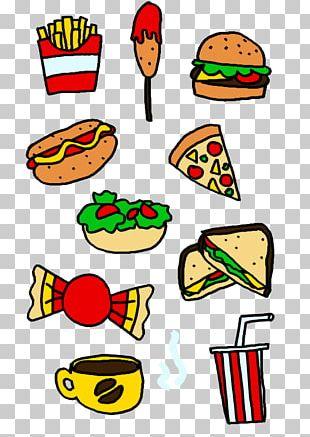 Fast Food Cheeseburger Menu PNG