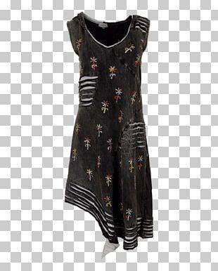 Cocktail Dress Sleeve Black M PNG