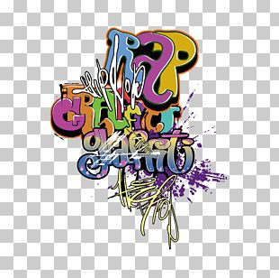 Graffiti Mural Tag Art PNG