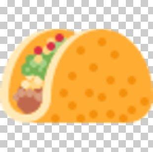 Taco Burrito Tex-Mex Emoji Pico De Gallo PNG