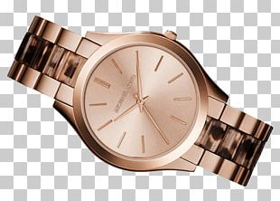 Watch Strap Michael Kors Gold Bracelet PNG