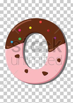 Letter Case Sprinkles Biscuits PNG
