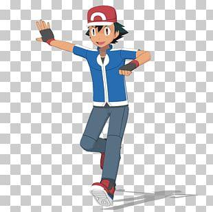 Pokémon X And Y Ash Ketchum Pikachu Serena PNG