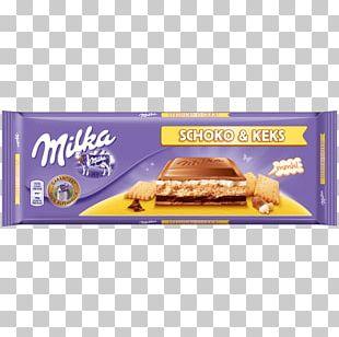 Cream Stuffing Milka Chocolate Bar PNG