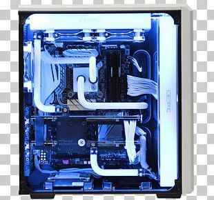 Computer Cases & Housings Computer System Cooling Parts Water Cooling Gaming Computer Homebuilt Computer PNG