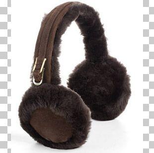 Headphones UGG Earmuffs Fur Loudspeaker PNG