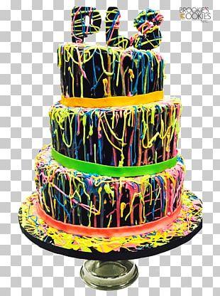 Birthday Cake Cake Decorating Buttercream Torte PNG