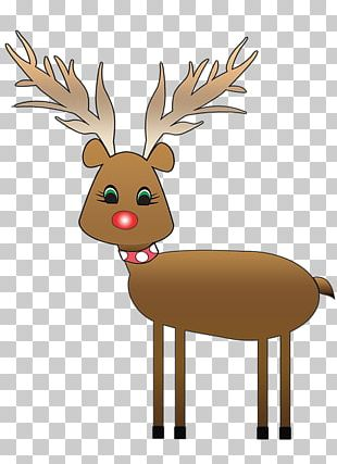 Reindeer Rudolph And Frosty's Christmas In July PNG