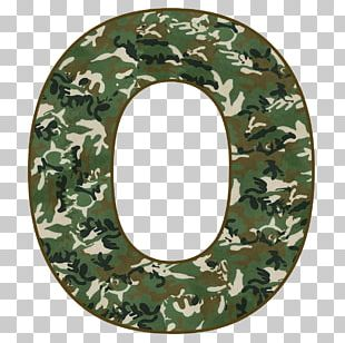 Alphabet Letter Military Camouflage PNG
