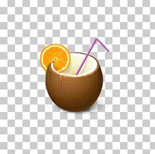 Cocktail Americano Coconut Water Coconut Milk Drink Mixer PNG