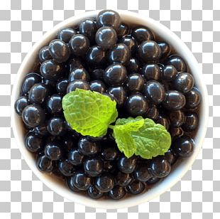 Blueberry Bubble Tea Popping Boba Bilberry Superfood PNG