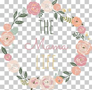 Wreath Floral Design Flower Logo PNG