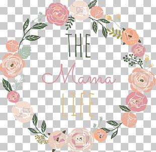Wreath Floral Design Flower Logo PNG