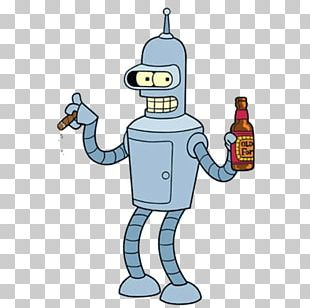 Bender Philip J. Fry Leela Character Cartoon PNG