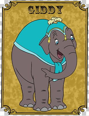 Elephant Prissy Mrs. Jumbo The Elephant Matriarch Film Timothy Q. Mouse PNG