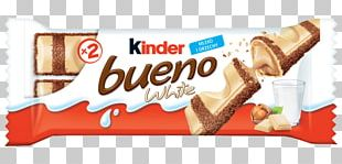 Kinder Bueno Kinder Chocolate White Chocolate Chocolate Bar Kinder Surprise PNG