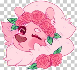 Garden Roses Lion Drawing Fan Art PNG