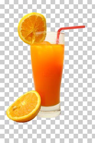 Orange Juice Smoothie Cocktail Fizzy Drinks PNG